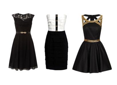 маленькое черное платье, женственный стиль в одежде