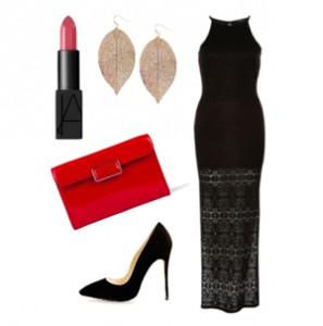 женская красная сумка, с чем носить
