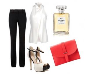 с чем носить женскую красную сумку