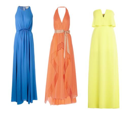 модные сарафаны лето 2015, макси сарафан