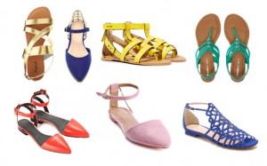 модная женская обувь лето 2015
