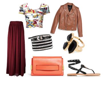 модные сеты август 2015