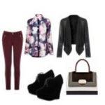 Кожаная куртка и джинсы — сеты для осени