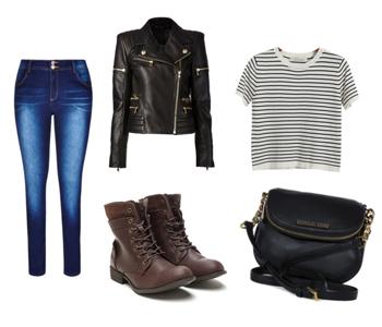 куртка и джинсы на осень, сеты