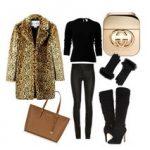 Стильный образ с леопардовым принтом