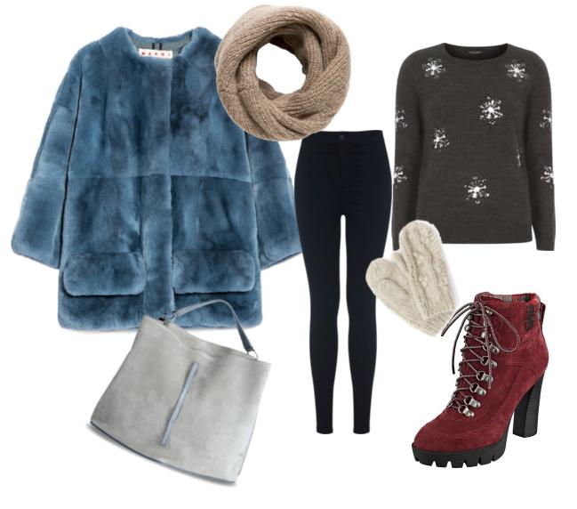 модные сеты зима 2016