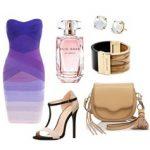Платье в актуальных розовых и сиреневых тонах