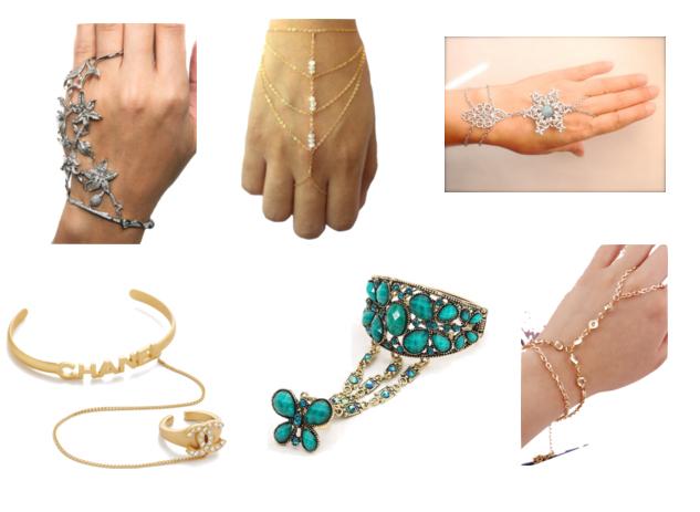 модная бижутерия весна лето 2016 - браслет и кольцо
