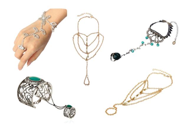 модная бижутерия сезон весна лето 2016 - браслет и кольцо