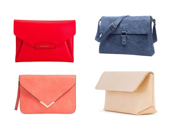 модные сумки на лето 2016, большой клатч