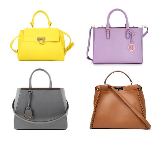 модные сумки на лето 2016, сумка с небольшими ручками