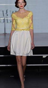 модные женские юбки лето 2016 - классический белый цвет