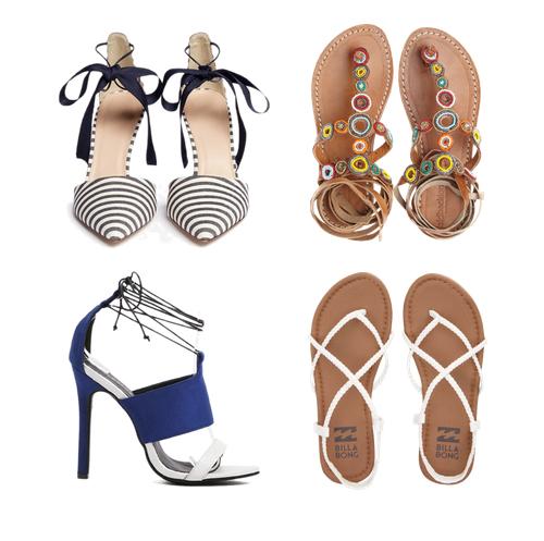 модные туфли лето 2016 - декор и шнуровка