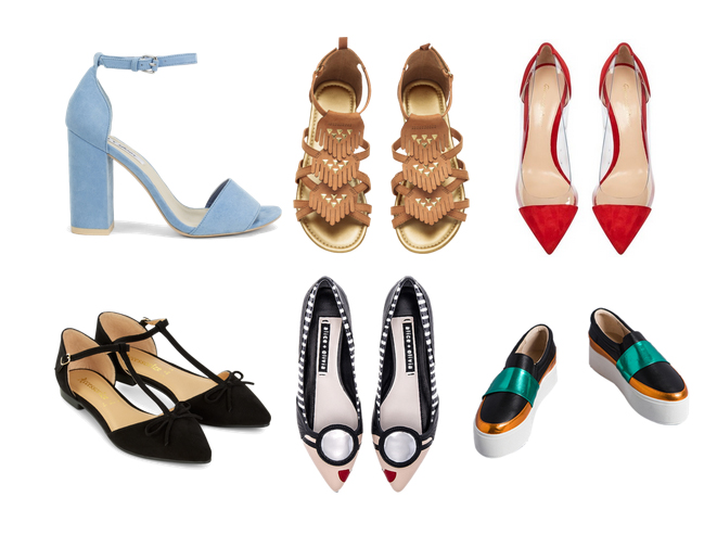 модные туфли лето 2016