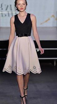 модные юбки лето 2016 - юбка а силуэта 2