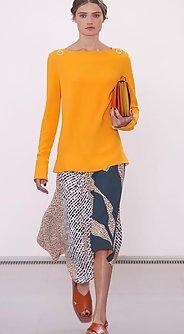 модные юбки лето 2016 - юбка миди с ассиметричным кроем