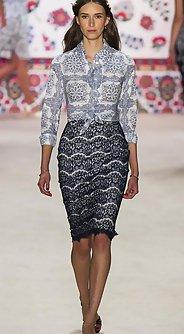 модные юбки лето 2016 - юбка прямого покроя 1