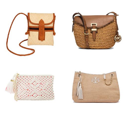 модные пляжные сумки 2016 - клатчи
