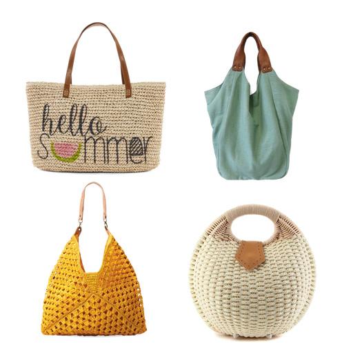 модные пляжные сумки 2016 - пляжная сумка