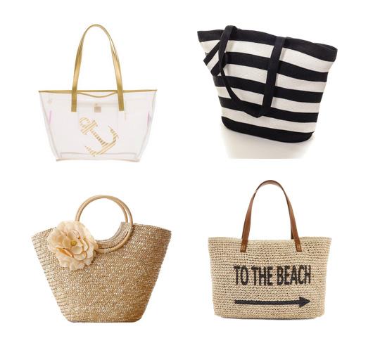 модные пляжные сумки 2016 - сумки в морском стиле
