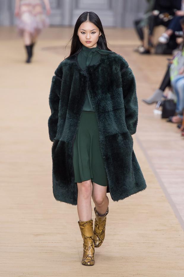 модная коллекция Chloe осень-зима 2016-2017