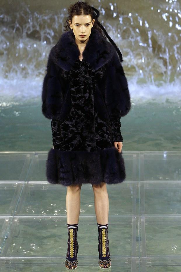 модная коллекция Fendi сезона 2016 - 2017