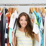 Как убраться в гардеробе?