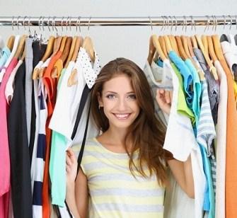как убраться в гардеробе