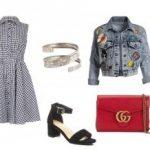 Геометрический принт и модный деним