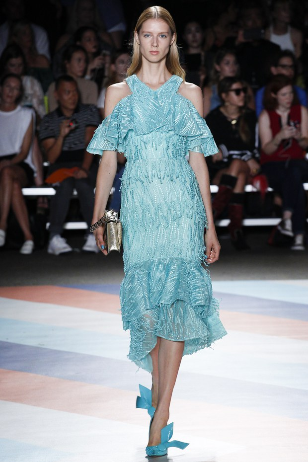 Модная коллекция Christian Siriano лето 2017
