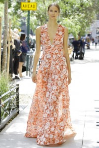 летняя модная коллекция от Lela Rose - лето 2017
