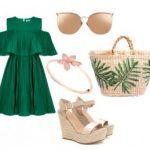 Платье с воланом — актуальный тренд лета