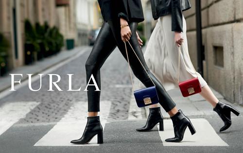 модный образ с сумкой furla