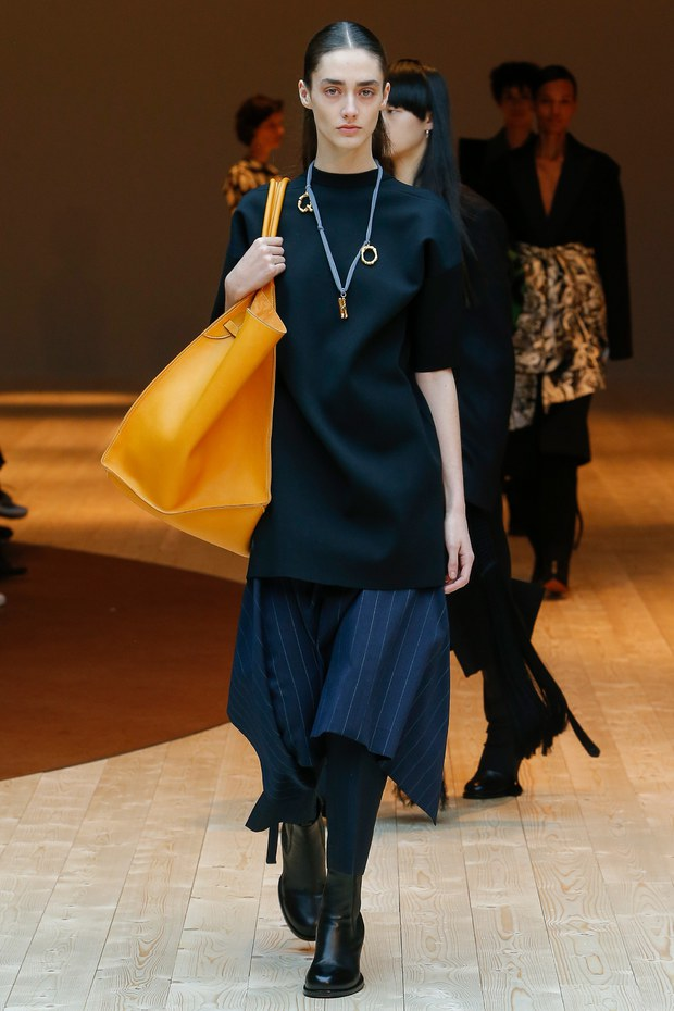 объемная сумка - мода осень 207, основные тенденции