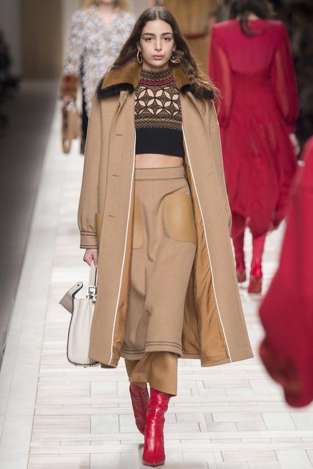 объемное пальто - женская мода осень 2017