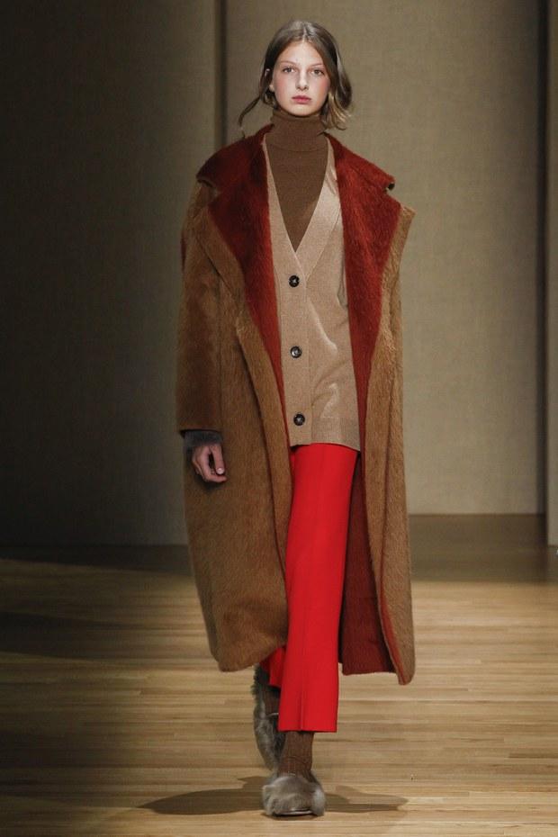 объемное пальто - модные тренды осень 2017