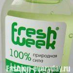 Гель для рук от Fresh Week с ароматом зеленого чая — обзор, фото
