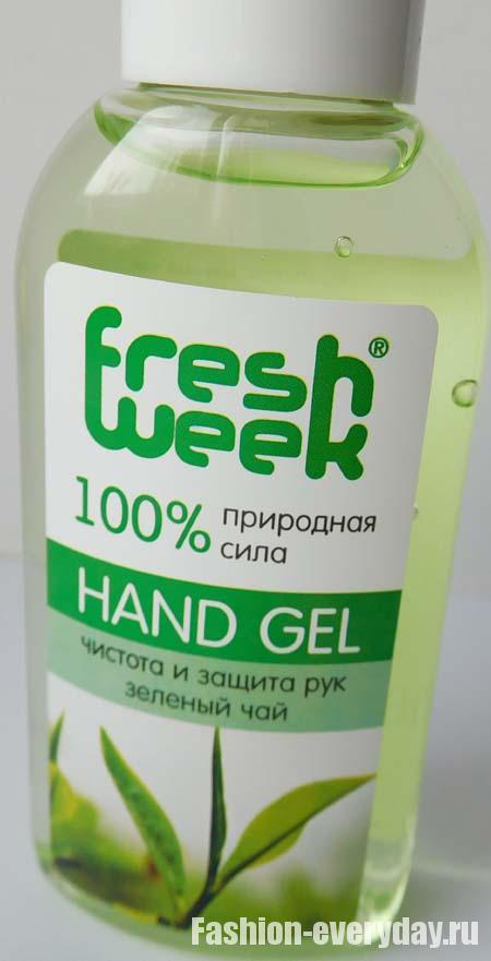 антибактериальный гель для рук Fresh Week