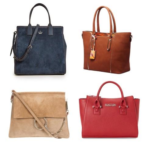 стильные объемные сумки