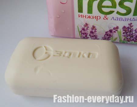 туалетное мыло Fresh - инжир и лаванда