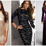 Выбираем модное платье на Новый год 2018