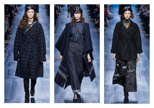 модная коллекция Кристиан Диор на сезон осень зима 2017-2018