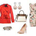 Красный тренч — с чем носить?