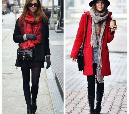 Мода и трендыКрасное женское пальто изоражения