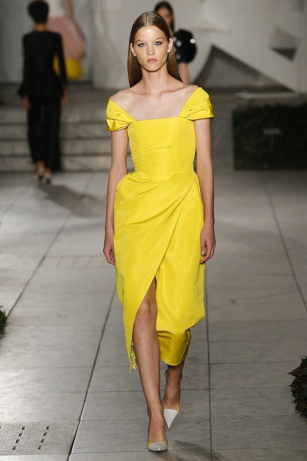 Модная коллекция Carolina Herrera весна-лето 2018