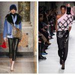 Модные кожаные брюки — с чем носить