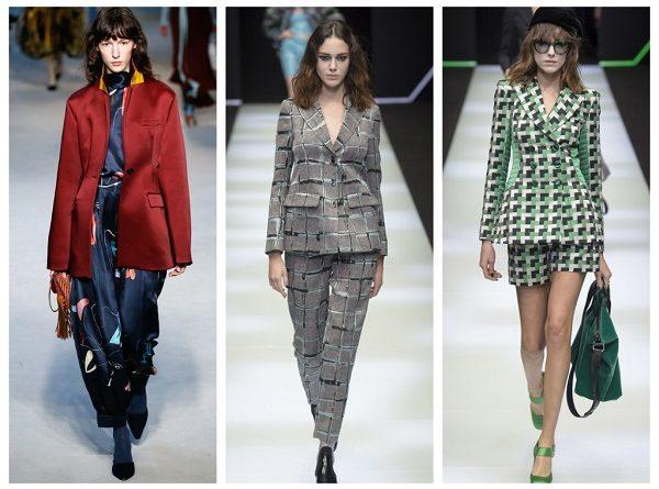 самый модный пиджак осень 2018