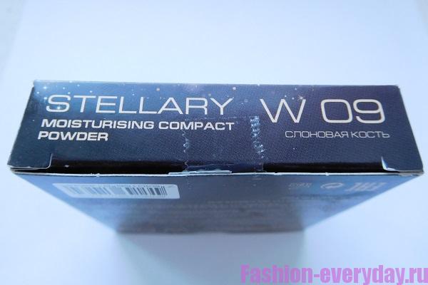 обзор и отзыв на компактную матирующую пудру Стеллари